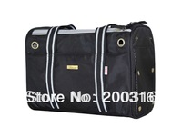 New arrival black 1680D double-stranded nylon Pet Dogs Carrier Bag