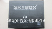 10pcs/Lot original Skybox F3 1080pi Full HD Satellite receiver  Only for malayisa