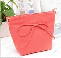 2013 Korean fashion new bow shoulder  Messenger bag leisure bag,free shipping