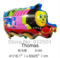 50pcs/lot Free shipping Foil balloons Wedding /Party decoration thomas baloon  kid toy