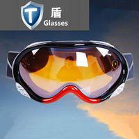 Male Women professional ski eyewear double layer mirror skiing mirror goggles hiking mirror 0036
