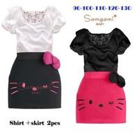 Lady short-sleeved girls dress