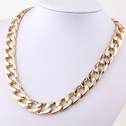 Min. order is $15 (mix order) Coarse necklace female chain short design fashion decoration accessories(China (Mainland))