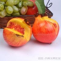 ``Artificial fruit opening pomegranate decoration fruit