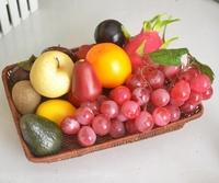 Artificial fruit decoration fruit kitchen cabinet home bundle platter free shipping to CN