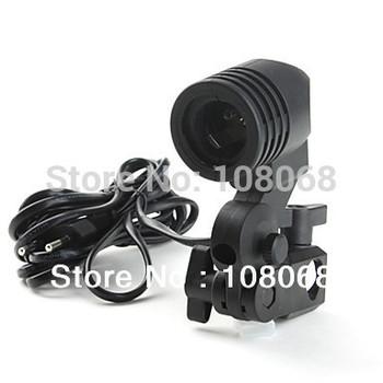 Photo Studio E27 Single lamp holder AC Socket & Cord Set with Umbrella Holder / Light Stand Mount Adjustable Wholesale