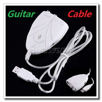 High quality Mini USB Interface Audio Guitar Link Cable to PC MAC Dropshipping