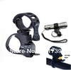 1PC 360 Rotate Cycling Flashlight Mount Bicycle Light Holder Clamp Torch Clip free shiping