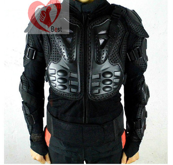 free shipping Motorcycle Full Body armor protector Armor Jacket motocross protector Spine Chest Protection Gear  M L XL XXL XXXL