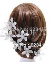 Handicraft lace flower wedding hearwear/ barrettes for bride/bridesmaid 2014 fashion free shipping