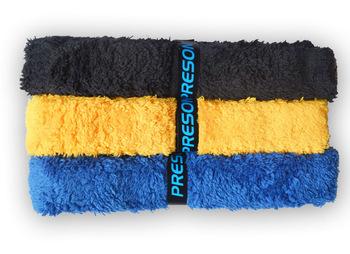 Preson towels, plastic full overwraps sweat absorbing belt three-color
