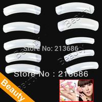 500 PCS Natural Extra Long Acrylic Fake False Nails Nail Art Tips Decoration   4903