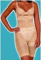 Slim lift slimming bodysuit shaper tights single band shoulder strap tv