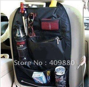 Car multi Pocket Storage Organizer Arrangement Bag of Back seat of chair - Free shipping-black