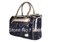 Luxury flocking fabric Pet Dogs Carrier Bag