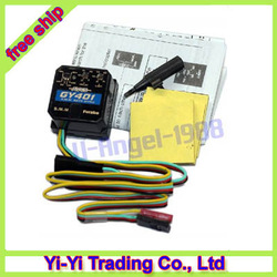 Futaba GY401 GY 401 AVCS SMM GYRO For Trex 450 500 600+ Free shipping(China (Mainland))