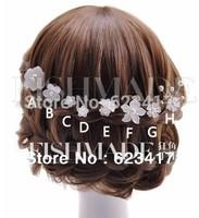 Handicraft cherry wedding hearwear/ hairpins for bride/bridesmaid 2014 fashion free shipping