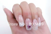 12 color lovely real natural 5 petal 3D dry flowers nail art Salon UV Gel Tips Manicure decorations care beauty