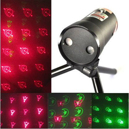 mini style 7 pattern red and green laser stage lighting good for party,club free shipping(China (Mainland))
