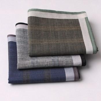 Fashion male handkerchief cotton 100% cotton handkerchief
