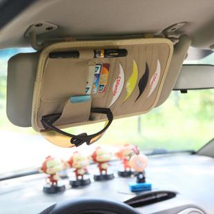 Auto CD clip visor sets CD clamp dermal CD clip multi-function Card Holder Car organizer auto accessories