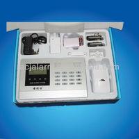 LCD display Intelligent Wireless Home burglar alarm GSM alarm system