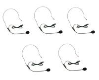 Free Shipping!!5pcs Aker Voice Amplifier Headset Headworn Head-Mounted Microphone Light Weight