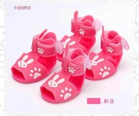 Free shipping sale Pet sandals Pet shoes, dog sandal dog shoe Pink Yellow Blue #9227