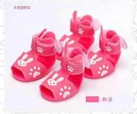 Free shipping sale Pet sandals Pet shoes, dog sandal dog shoe Pink Yellow Blue #9227