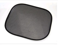 Free shipping hot sale static cling car side window sunshade sticker(China (Mainland))