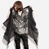 2013 Men&#39;s Super Fashion Sleeveless T-shirt M L XL Black Free Shipping