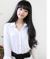 Non-mainstream wig female scroll fluffy long curly hair for girls ji af a women's long wig women's