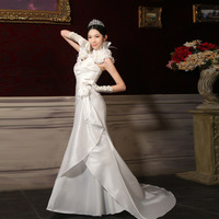 Bride tube top slim wedding dress new arrival 2012 slim waist and fish tail bag wedding dress a12121