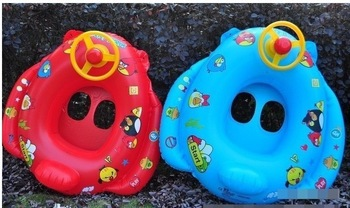Wholesale Children's steering wheel swim ring life buoy