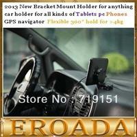 2013 new  tablet pc Holder car holder for all kinds of tablets gps navigator or mobile phones can hold for 4kg