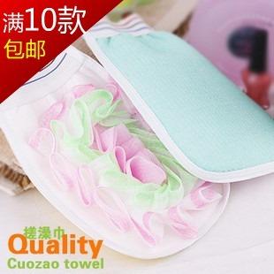 1361 bathsite belt scrubbing gloves bathwater bath gloves bubble bath flower small cloth