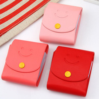 min. order is $10(mix order) F1244 pink bag multi-purpose card holder card case rotary card case card holder 80g