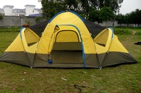 Big tent 6 double layer camping tent 6 - 8 casual big tent