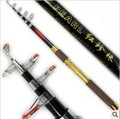 Free shipping is 3.0 m telescopic glass rod fishing rod+ Gift fishhook Free Shipping
