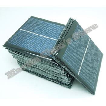 Free shipping 10pcs/lot 5.5V 140mA 0.77W mini solar panels small solar power 3.6v battery charge solar led light solar cell