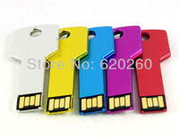 NEW 2G/4G/8G/16G/32G key shape keychain USB 2.0 Flash Memory Stick Pen Drive  free shipping