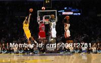 "01 The Last Shoot Jordan Kobe James Wade 24""*38"" Poster"