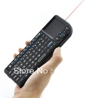 Mini Bluetooth Keyboard with Touch Pad and Laser Pointer