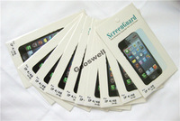 For iphone5 Front+back anti-glare Screen Protector For apple iphone 5 LCD Screen,With Retail Package+10pcs/lot,Free shipping
