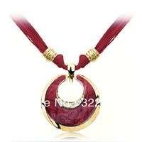 Free shipping 2013 fashion necklac Luxurious glaze European charms name brand Ziyu China TOP QUALITY WHOLESALE