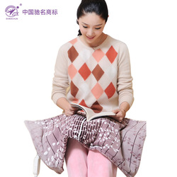 Three spring multifunctional electric blanket heating kneepad coral fleece hand warmer warm feet multi-purpose(China (Mainland))