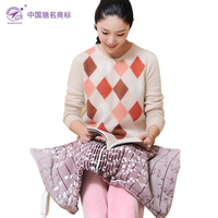 Three spring multifunctional electric blanket heating kneepad coral fleece hand warmer warm feet multi-purpose
