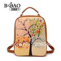 2013 fashion vintage motorcycle double-shoulder women's handbag backpack