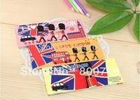 Free Shipping ! 24 PCS/Lot , I Love London Tearable Notepad / Sticky Notepad / Scratch Pad / Notebook / Memopad