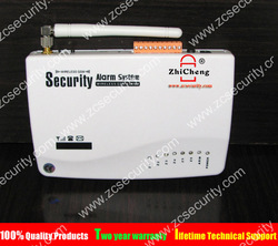 free shipping wired & wireless home security GSM alarm panel / host for DIY security system(China (Mainland))